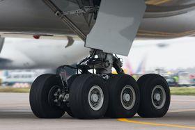 Шасси самолета Boeing 777, иллюстративное фото: Dmirty A. Mottl, CC BY-SA 3.0
