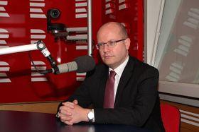 Bohuslav Sobotka, foto: Prokop Havel, ČRo