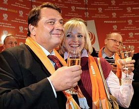 Йиржи Пароубек с супругой (Фото: ЧТК)
