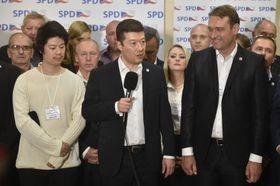 El partido Libertad y Democracia Directa de Tomio Okamura, foto: ČTK