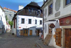 Отель «Барбора» в Чешском Крумлове, Фото: Google Street View