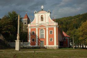 La iglesia de San Martín en Nejdek, foto: Petr Štefek, Creative Commons 3.0