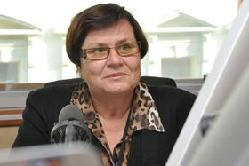 Marie Benešová, foto: Marián Vojtek, Český rozhlas