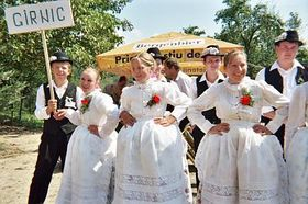 The folk dancing group from Gernic