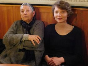 Людмила Улицкая и Алена Махонина, Фото: Лорета Вашкова, Чешское радио - Радио Прага