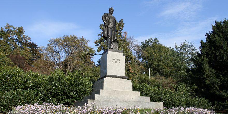 Rieger-Statue in Prag (Foto: Ondřej Kořínek, Wikimedia Commons, CC BY-SA 3.0)