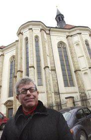Arquitecto Daniel Libeskind en Praga, foto: CTK