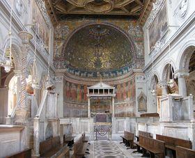 La basílica de San Clemente, en Roma, foto: Dnalor 01, Wikimedia CC BY-SA 3.0