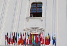 Флаги стран ЕС уже без британского, Фото: ЧТК