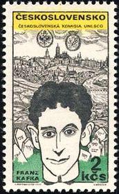 Le timbre-poste de Franz Kafka de 1969
