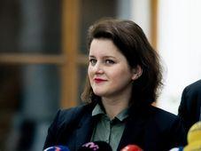 Jana Maláčová, photo: Michaela Danelová / Czech Radio