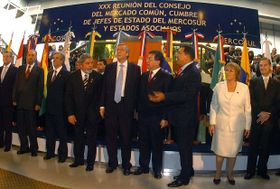 XXX Cumbre de Jefes de Estados del Mercosur y Asociados (Foto: Presidencia de la Nación Argentina)