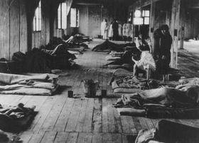Ženský tábor vTerezíně, foto: United States Holocaust Memorial Museum, Public Domain