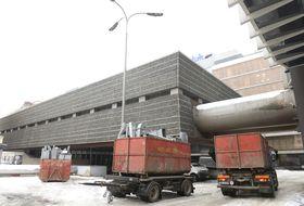 Début de la démolition des bâtiments Transgas, photo: ČTK/Kateřina Šulová