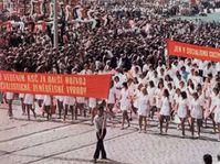 Primero de Mayo durante el período del socialismo