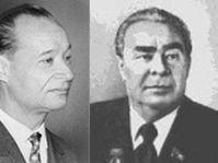 Alexander Dubcek, Leonid Brezhnev