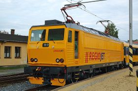 Le train de la société RegioJet, photo: Archiv de Student Agency