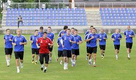 L'équipe slovaque, photo: CTK