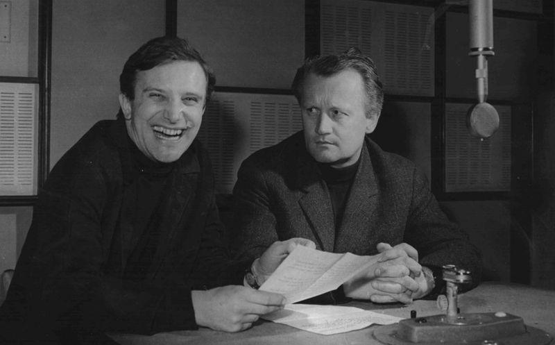Иржи Сухи и Иржи Шлитер, фото: Архив Чешского радио