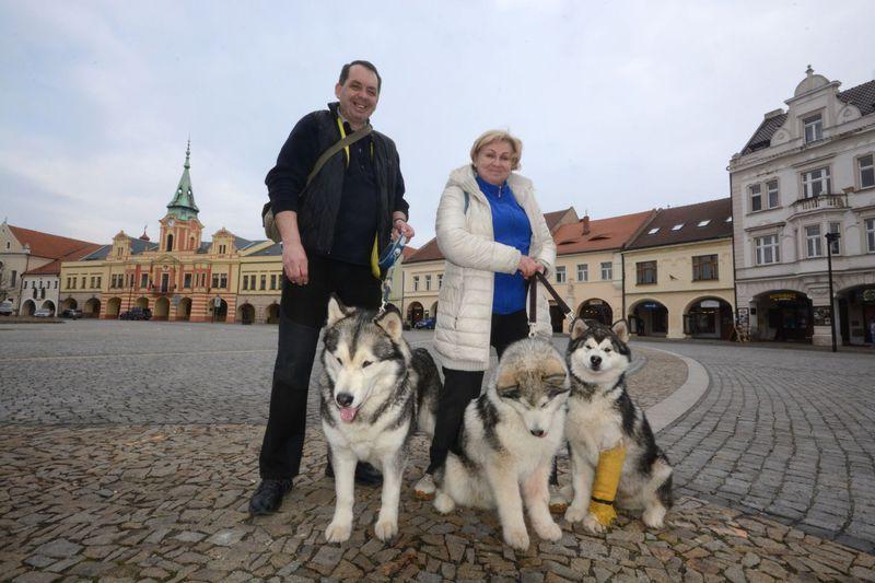 Jiří Kutín aIrina Zajac, foto: Eva Turečková