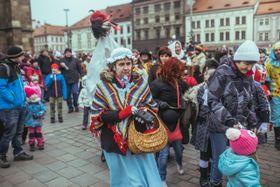 Karneval in Pilsen (Foto: Archiv der Pilsner Philharmonie)