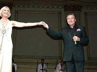 Helena Vondrackova et Karel Gott au Carnagie Hall, photo: CTK