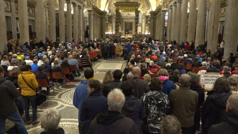 Anlässlich des 30. Jahrestags der Heiligsprechung der Agnes von Böhmen fand eine Wallfahrt in Rom statt (Foto: ČTK)