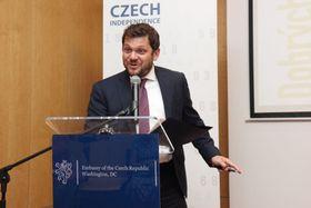 Zdeněk Beránek, photo: archive of Czech Embassy in Washington, D.C.