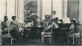 Franz and Žofie with their children