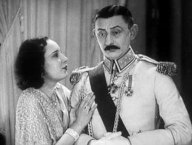 Lída Baarová y Vlasta Burian en la película 'Lelíček al Servicio de Sherlock Holmes' ('Lelíček ve službách Sherlocka Holmesa' (1932), foto: ČT
