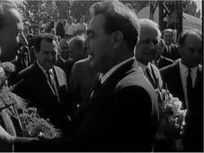 Александр Дубчек и Леонид Брежнев, фото: ЧТ