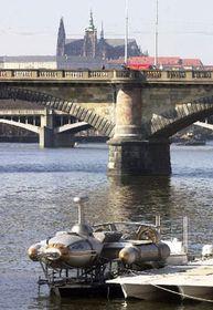 Palacky bridge, photo CTK