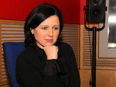 Věra Jourová, photo: Šárka Ševčíková, ČRo