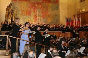 El coro de Universidad Carolina
