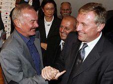 Premysl Sobotka und Mirek Topolanek (Foto: CTK)