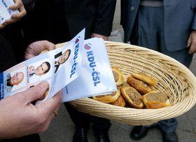 La campaña electoral del Partido Democristiano (Foto: CTK)