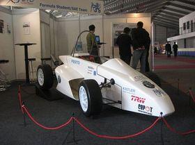 Formel Student auf der Amper-Messe (Foto: www.cartech.cvut.cz)