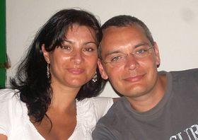 Jana Horváthová avec son mari Ladislav, photo: Archives de Jana Horváthová