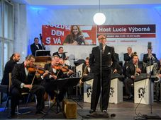 Ondřej Havelka and his Melody Makers, photo: Khalil Baalbaki / Czech Radio
