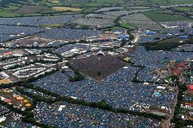 Glastonbury Festival, photo: CTK