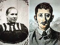 Anežka Hrůzová a Leopold Hilsner, foto: ČTK