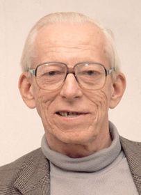 Otto Wichterle en año 1985, foto: CTK