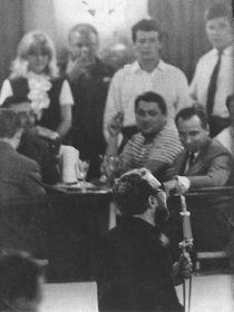 Pavel Vošický in Cafe Nisa in 1961, photo: archive of Pavel Vošický