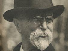 Tomáš Garrigue Masaryk, photo: Repro TGM v Lánech