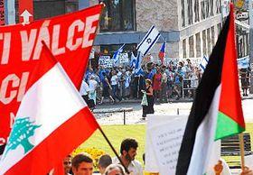 Demonstrace 26.7. vPraze, foto: ČTK