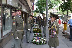 Gedenkveranstaltung zum 21. August (Foto: Ondřej Tomšů)