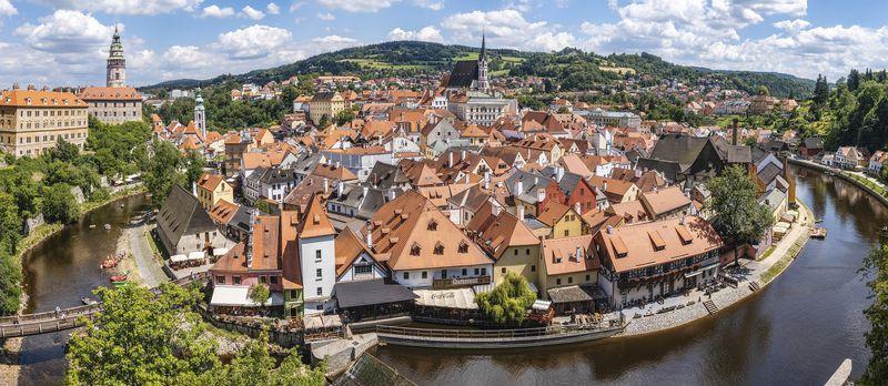 Český Krumlov, foto: Felix Mittermeier / Pixabay CC0