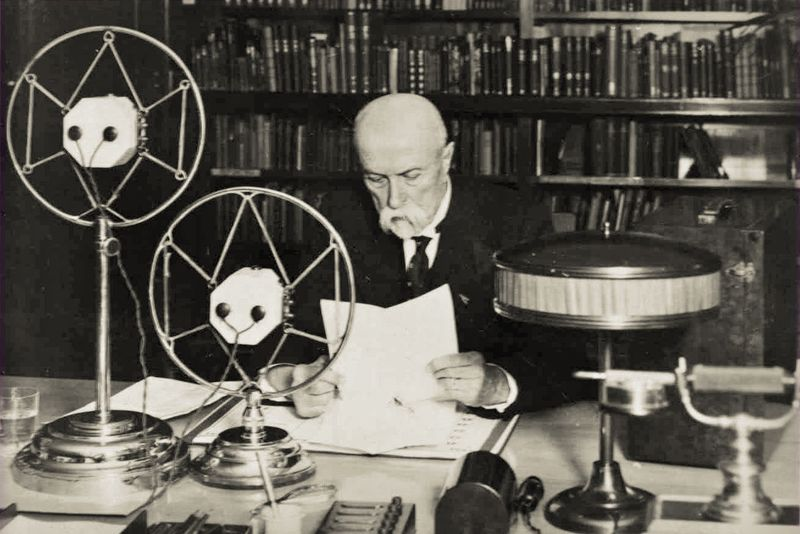 Tomáš Garrigue Masaryk, photo: archive of Czech Radio