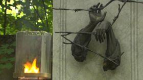 El monumento a las víctimas del comunismo en el cementerio de Ďáblice, foto: ČT24