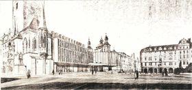 Проект архитекторов Ярослава Шусты и Ладислава Вратника, фото: Archiv Národní galerie v Praze